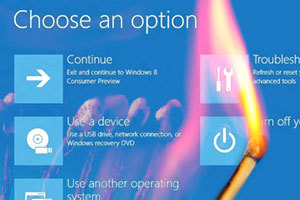 Windows 8 boote trop vite : Microsoft change le menu de démarrage - 01net | So What ? | Scoop.it