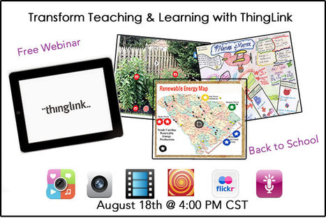Free Webinar: Transform Teaching & Learning with ThingLink | Cool Tools for Vocabulary | Scoop.it