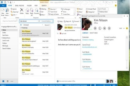 Microsoft updates Skype for Windows with Outlook integration | Microsoft | Scoop.it
