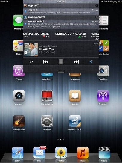 Jukebox Music Widget For iPhone And iPad In Notification Center - Cydia Tweak ~ Geeky Apple - The new iPad 3, iPhone iOS6 Jailbreaking and Unlocking Guides | Apple News - From competitors to owners | Scoop.it