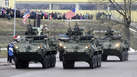US armor paraded 300m from Russian border (VIDEO) | Global politics | Scoop.it