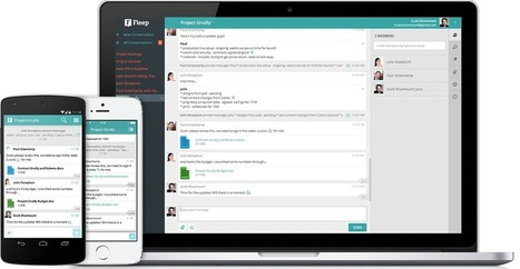 Fleep: Group chat for teams and businesses | Emerging Learning Technologies | Scoop.it