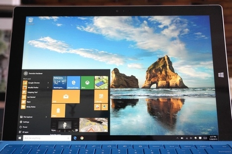 Microsoft shows off first Windows preview since release | GADGETS -and- TECHNOLOGY | Scoop.it