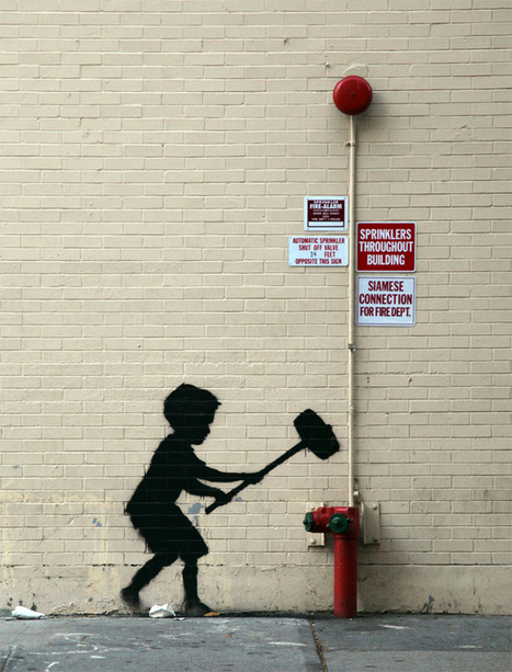 Banksy in New York, Day 20: Upper West Side | Colossal | Communication design | Scoop.it
