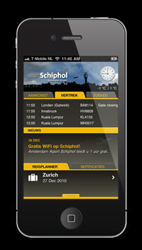 Amsterdam Airport Schiphol launches free mobile app | TheMoodieReport.com | Amsterdam | Scoop.it
