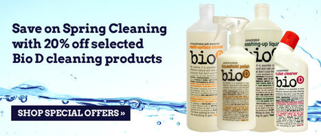 The Bio-D Company - UK manufacturer of natural, ethical and environmentally sound laundry and cleaning products | Moralization of Markets | Scoop.it
