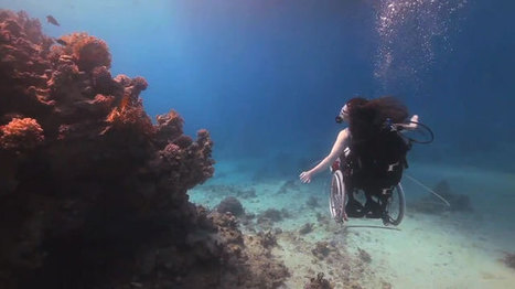 #419 Underwater wheelchair ballet | This gives me hope | This Gives Me Hope | Scoop.it