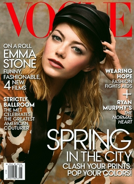 More Photos of Emma Stone's Vogue Feature | TAFT: Trends And Fashion Timeline | Scoop.it