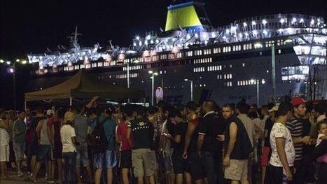 El 99% de las personas llegadas a Grecia por el Mediterráneo proceden de países en guerra | Noticias en español | Scoop.it