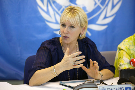 Fighting for Human Dignity and Women's Equality: Interview with Margot Wallstrom | Successful women | Scoop.it