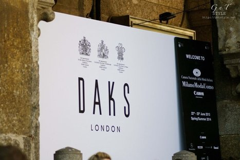 GnT Style invited at DAKS SS2014 | Gn'T Style Pills | Scoop.it