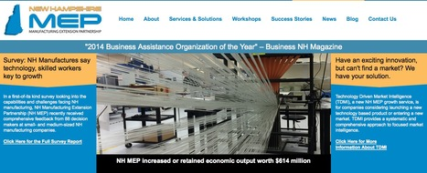 Check out What's NEW at New Hampshire Manufacturing Extension Partnership   Manufacturing In the USA Today   Scoop.it