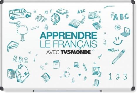 Utiliser le site « Apprendre le français avec TV5MONDE » en classe avec un TNI | tableau blanc interactif | Scoop.it