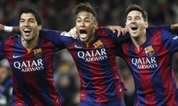 How do Juventus stop Lionel Messi and Barcelona's front three? | Jonathan Wilson - The Guardian | AC Affairs | Scoop.it