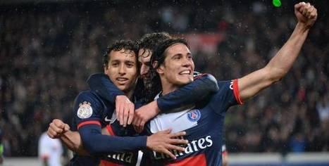 Foot Ligue 1 PSG Cavani les a conquis -   football   Scoop.it