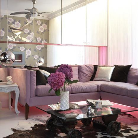 decorating with florals | floral patterns | San Francisco interior designer | Los Angeles modern interior design | Girly Modern | Designing Interiors | Scoop.it