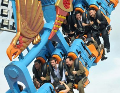 Kim Jong Un's Mysterious Roller Coaster Pal, Revealed | Free Information | Scoop.it