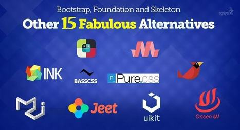 15 Fabulous Alternatives to Bootstrap, Foundation and Skeleton | Elance Clone Template, Freelancer Clone script - Agriya | Scoop.it