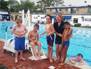 Access for all at Hampton Pool thanks to new chair hoist supplied by Dolphin Lifts. | Accessibility by Sirus Automotive -Wheelchair Accessible Vehicles | Scoop.it