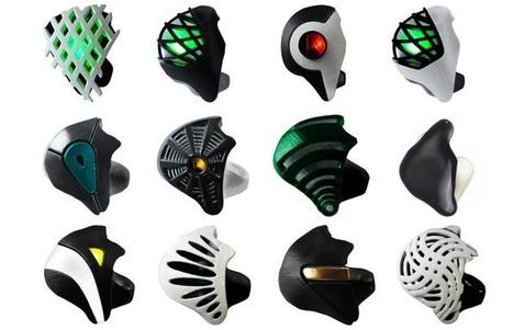 3D-Printed Headphones Double as Ear Jewelry - PSFK   Retail Store Design   Scoop.it