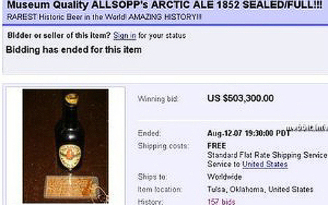 140-year-old bottle of Arctic beer to be sold at auction | Inuit Nunangat Stories | Scoop.it