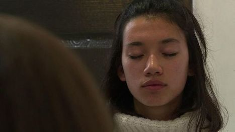 Avant le bac, pas de stress: Eva médite   Pleine conscience   Scoop.it