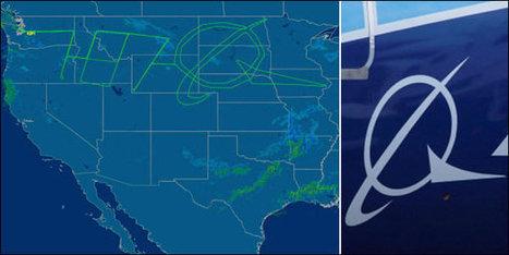 Un avion «dessine» le logo de Boeing dans le ciel | Mais n'importe quoi ! | Scoop.it