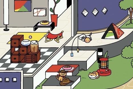 Neko Atsume : comment attirer les chats les plus rares — | Les chats c'est pas que des connards | Scoop.it