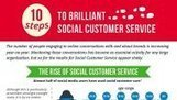 10 Steps to Brilliant Social Customer Service [INFOGRAPHIC] | Social Media Today | Social media best practise | Scoop.it