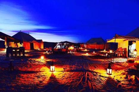 """Travel Visit Morocco on Instagram: """"Welcome to Morocco & join our #tours to spend a night in this Desert Luxury Camp! www.travel-visit-morocco.com #travel_visit_morocco #camp…""""   sahara desert tours Morocco   Scoop.it"""