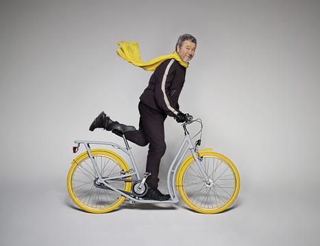 Pibal, la 'bicicletta monopattino' progettata da Philippe Starck e dai cittadini di Bordeaux. | Conetica | Scoop.it