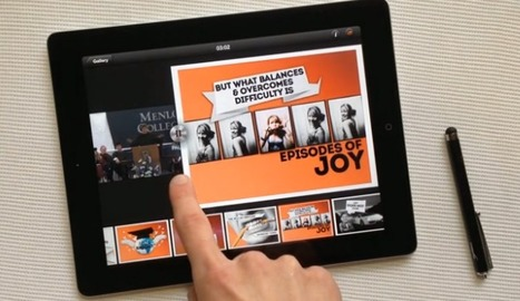 9SLIDES iPad App Review: Add Video and Sound to Presentations | CF Educational Technology | Scoop.it
