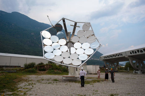 The #Solar Sunflower: Harnessing the power of 5,000 suns #renewables #science | Messenger for mother Earth | Scoop.it
