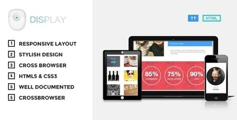 Display – Responsive HTML Theme (Creative)   Site Templates Download   Scoop.it