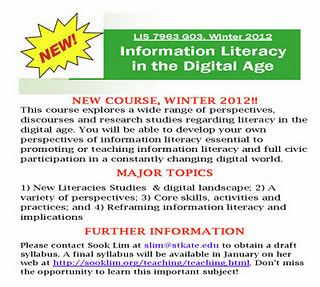 St. Kate's MLIS Program: Information Literacy in the Digital Age | transliteracylibrarian | Scoop.it