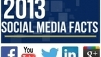 Infographic: The Social Media Facts Of 2013 - DesignTAXI.com | Key Media Insights | Scoop.it