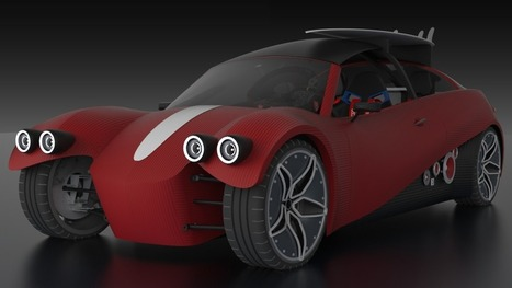 Local Motors' LM3D Swim set to be the world's first 3D-printed electric ... - Gizmag   Future of 3D Printing Scanners Biomedical Engineering Technology   Scoop.it