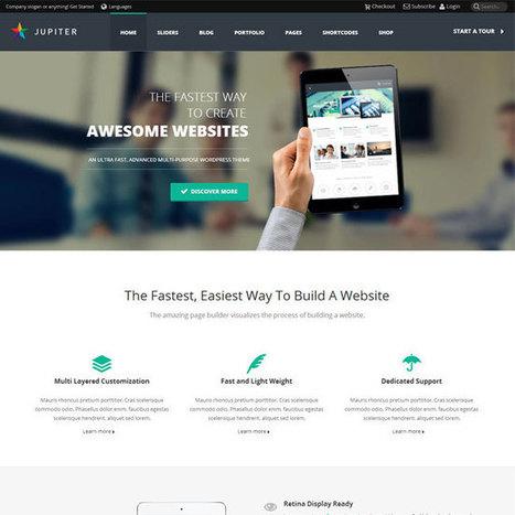 Jupiter WordPress Theme | WordPress Theme Download | topic | Scoop.it