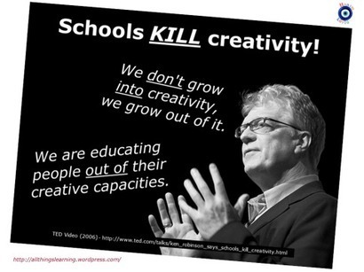 leading and learning: Educational Readings -Sir Ken Robinson's quotes; Alfie Kohn, Tony Gurr and Bill Gates | Education, Curiosity, and Happiness | Scoop.it