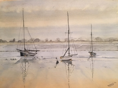 Artwork: Morning Tide Maldon - Open House Art | Art - Crafts - Design | Scoop.it