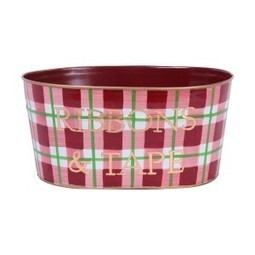 Holiday Plaid Red Ribbons And Tape Tub | Best Collection of Home Decor | Scoop.it