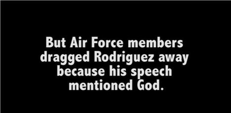 Air Force physically assaults retired Airman over the word 'God' | EconomicFactors | Scoop.it