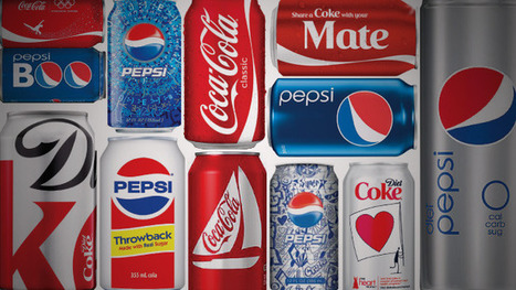 A Look Back at Some Memorable Coke and Pepsi Can Designs | Adweek | Corporate Identity | Scoop.it