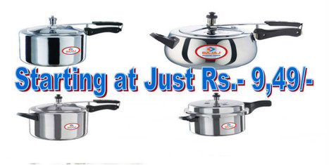 Pressure Cookers at Lowest Price Online in India | Online Shopping | Scoop.it