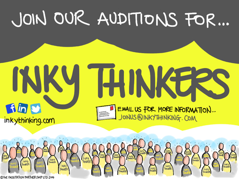Inky Thinking Auditions - have you got the I factor? | Wired to think in pictures... | Scoop.it
