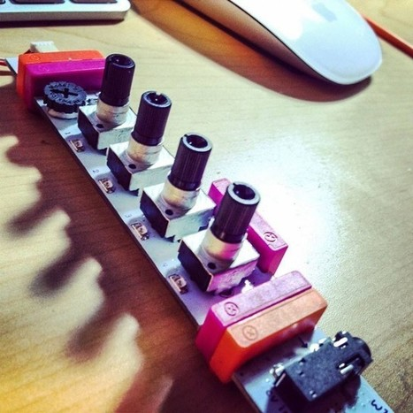 The Snap-Together Studio: What littleBits Can Do Now - Create Digital Music   Robotics and Electronics   Scoop.it