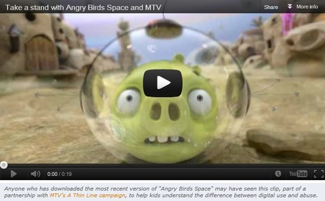 How MTV & Digital Games (Angry Birds) Are Helping Kids Learn About Cyberbullying | Cyberbullying | Scoop.it