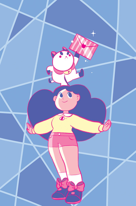 Natasha Allegri's Record-Breaking Web Series 'Bee And Puppycat' Gets Kaboom! Comic Series | Ladies Making Comics | Scoop.it