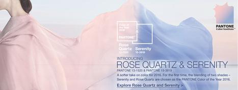 La Colorista Isabel de Yzaguirre - Colour, Trends and Interior Design in Barcelona - English.: Pantone's Colours of the Year 2016: Rose Quartz and Serenity. | Colour Trends - Tendències de Color. | Scoop.it
