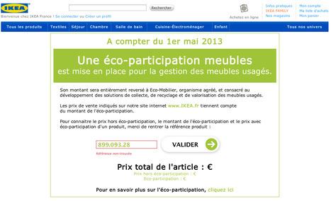 Eco-participation - IKEA.... Un petit BUG, Non? | le meuble durable | Scoop.it